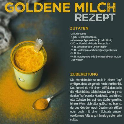 vom Achterhof - Goldene Milch Rezept