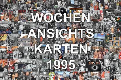 artblow - GEORG HIEBER: Wochenansichtskarten 1995
