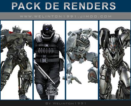 Pack De Renders Robots