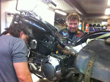3H de mécanique et on repart