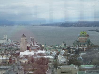 Ville Québec und der Lorenzstrom