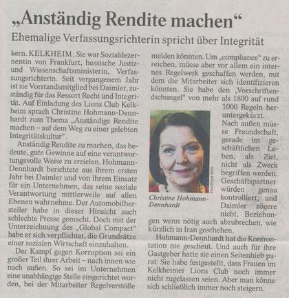 Aus der Frankfurter Allgemeinen Zeitung vom 27. Februar 2012