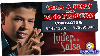 LUIFER DE LA SALSA INFORMES PARA EL PERU AQUI