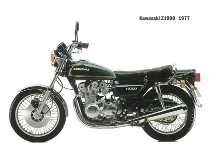 Z1000 A1 de 1977