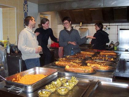 La cuisine collective de Grange neuve, Limans