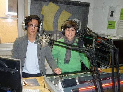 Stephan und Horst im Studio # 3