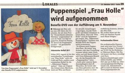 SonntagsReport v.21.10.2012