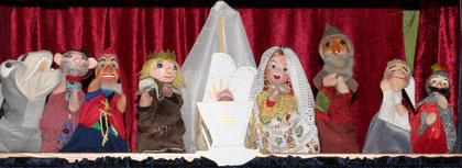 Viel Applaus für die Puppen!