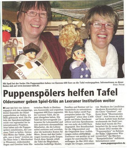 SonntagsReport vom 4.09.2011