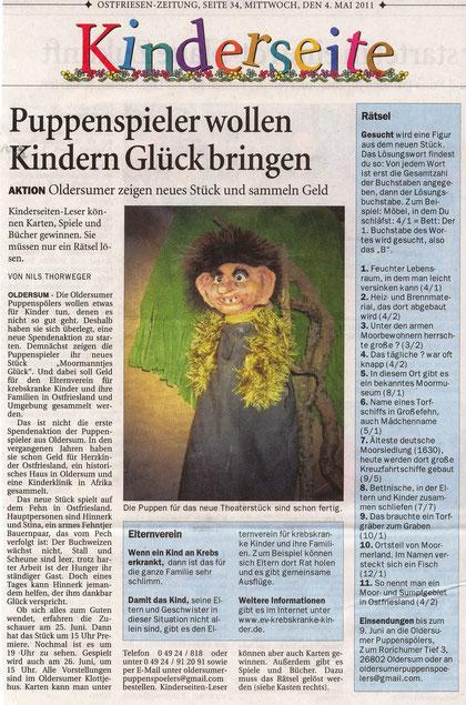 Ostfriesen-Zeitung v.4.05.2011