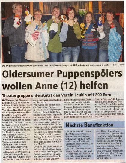 SonntagsReport v. 27.01.2013