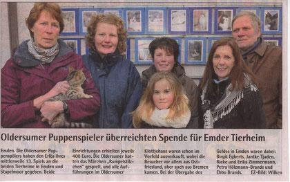 Emder Zeitung v. 13.02.2012