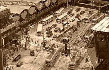 昭和30年代の渋谷駅