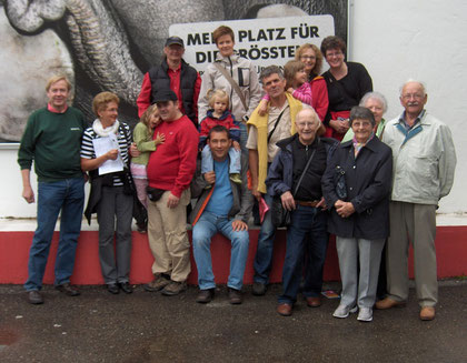 Die diesjährige Vereinsreise stand ganz im Zeichen der Familie. Wir besuchten den Zoo in Zürich.