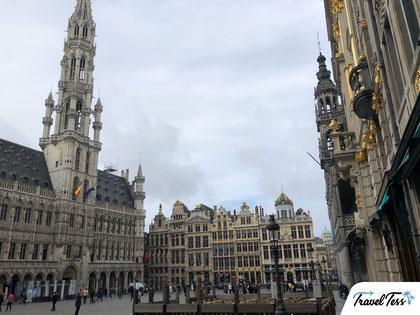 Plein in Brussel