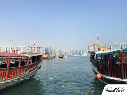 Dhow Harbour in Doha