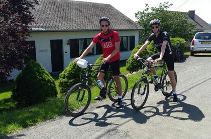 Mountainbiken in de Ardennen