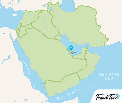 Kaart Midden-Oosten