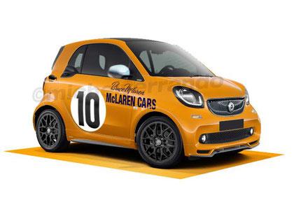 Smart Humour McLaren M7A