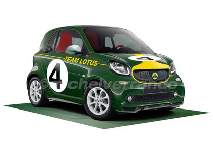 Smart Humour Lotus 49 Jim Clark