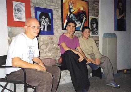 Sciamana e Pittrice Galleria DEA ottobre 2003