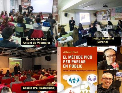 Tallers a Escoles de Catalunya