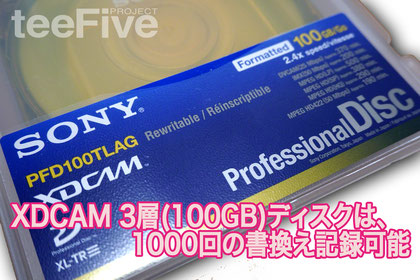 PFD100 TLA 4k uhd 4k変換  HDCAM HDCAM-SR XDCAM BETACAM デジベ ベーカム ベータカム シブサン umatic  Uマチック hi8 hi-8 ハイエイト ベータマックス ベータハイファイ βcam  8ミリビデオ d2 d1  1インチ vtr  XDCAM 3層 ディスク 100GB XDCAM XL-TL Sony ソニー プロフェッショナルディスク