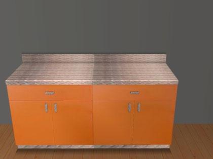 Element de cuisine sanimonique recoloration orange