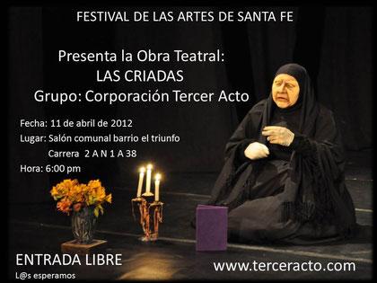 Mas información www.terceracto.com