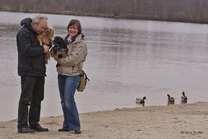 Amy & Bella, Norbert und ich