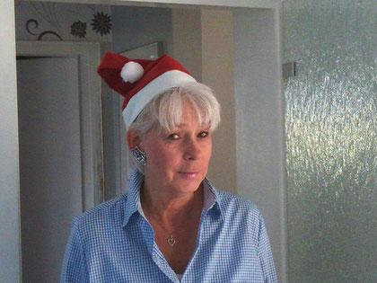 Verkleideter Linedance-Engel, der wünscht  Euch ein frohes Weihnachtsfest und einen guten Start ins Jahr 2013