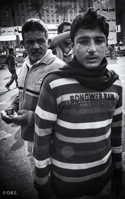 Tahrir, Cairo, Egypt - My guardian angel