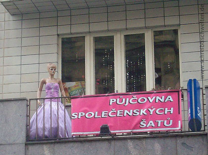 Kleiderstudio in Prag