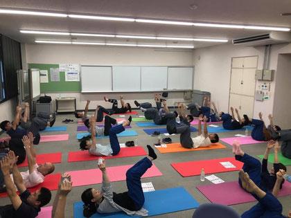 東レ基礎研究所:出張運動教室風景