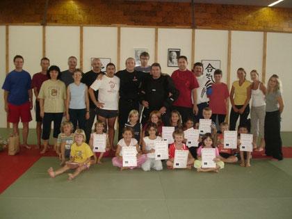 KIDS- Tenshin Self Defense Prävention- und Selbstverteidigungskurs für Kinder mit Eltern (Elternverein Ostermundigen)