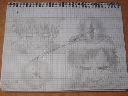 28. August 2011 - v.l.n.r. Naruto und Gaara