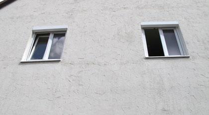 Kipplüftung und Stosslüftung bei einem Fenster