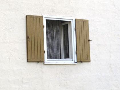 Stosslüftung bei einem Fenster