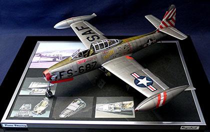 F84 E Thunderjet Hobbyboss 1/32