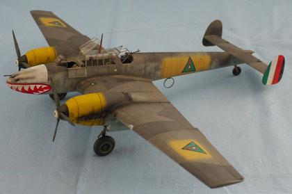 Messerchmitt Bf 110-E3 1/48