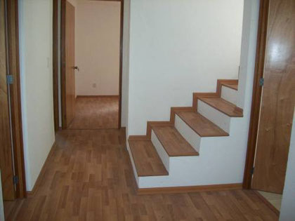Piso Laminado para recamaras,escaleras y pasillos  6 ,7,8, mm