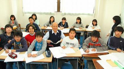 2010年1月から開始した新中1先取り学習の勉強風景です