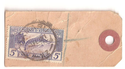 '5d.Mail tag, L8c 3-2-1939 from Oamaru.
