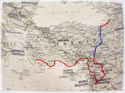 Proche Orient, voyage à vélo, Laetitia, bike touring, entreicietla
