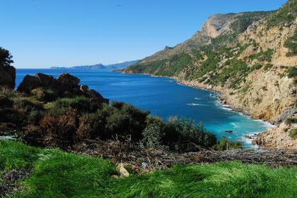 La mer Méditerranée en Turquie, voyage à vélo en Turquie, bike touring
