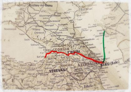 Caucase, voyage à vélo, Laetitia, bike touring, entreicietla