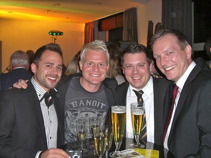 Guido Cantz, Frank Füglein und Michael Hofmann
