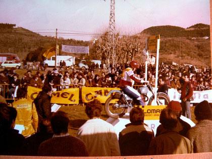 Sortida Mundial Trial - Pla de Dalt - Olot- Martin Lampkin