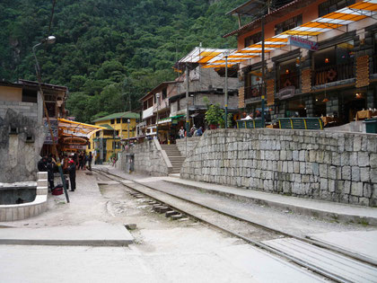 Downtown Aguas Calientes