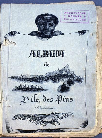 D35 - Couverture du premier Album de l'île des Pins